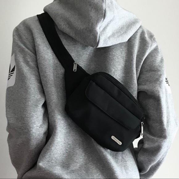 711fc3636e77a BLACK BELT BAG waist bag nylon fanny pack